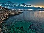 Sunset at St Pauls Bay