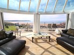 Woolacombe Holiday Cottages The Penthouse Lounge Doors