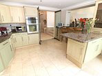 Woolacombe Holiday Cottages The Penthouse Kitchen Area