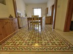 Fabulous Maltese tiles on the floor