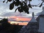 L'Antico Trullo, tramonto