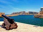 Sliema views from Portomaso Harbour