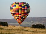 Up and away, we can organize tours, trips and even Balloon rides for your stay.