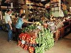 Plaza del Mercado in Santurce is San Juans Favorite Fruit & Vegetable Market. Amazing Smoothies!