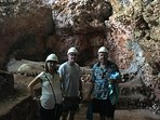 Cave tour in nearby Cabarete