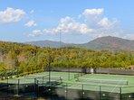Community Deco Turf Tennis Courts.