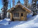 Cabin, Looking towards North Pole Peak
