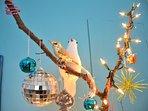 Christmas season decorations