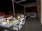 Spend long sultry nights on the terrace with mood lighting and BBQ