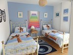 Bright fun room children will love and makes adults smile