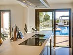 Beautiful views from the stunning kitchen!