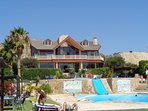 Casa la pedrara  as seen on tvs Grand Designs 10 Minutes away swimming quad biking horse riding .