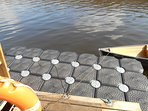 new floating jetty