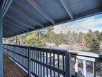 Your private balcony to enjoy the views! Seating offered for Cowboy and Master suites!