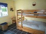 Chambre du bas, 3 couchages