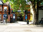 Stamford Brook Tube Station - one minutes walk from the apartment....