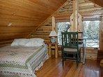 Lofted Bedroom