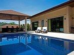 Modern 4 bed Nai Harn serviced villa