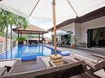 Ploi Jantra Villa | 5 Bed Large Serviced Holiday Home in Nai Harn Phuket