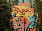 Busch Gardens 15 mins. away!