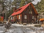 The ultimate Rocky Mountain retreat awaits you at this A-frame designed rustic vacation rental cabin!