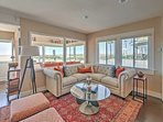 Recently renovated, this home boasts brand new furniture.