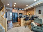 Combined kitchen/living