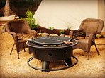 Fire pits located at every TeePee