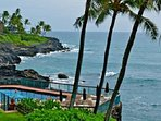 Poipu Shores has an incredible pool right on the ocean!