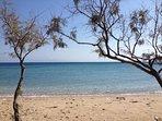 Tsoukalia beach (700m -  0.5 min drive)