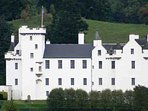 Blair Castle is a popular attraction and worth a visit
