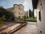 The lovely view of Castello della Paneretta