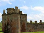 Caerlaverock Castle is worth a visit