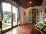 Natural light shines through the villa, simply open the doors to the fresh countryside air