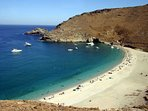 Achla beach, another famous beach of Andros.