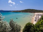 Another famous beach, Chrysi Ammos, which is also in the vicinity of Gavrio.