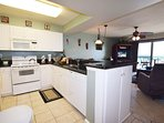 Kitchen Pelican Isle 308 Fort Walton Beach Okaloosa Island Vacation Rentals