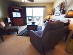 Living Room Pelican Isle 308 Fort Walton Beach Okaloosa Island Vacation Rentals
