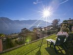 Enjoy the sun with an amazing view on the lake