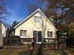 Back of house...new siding Fall 2016.