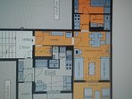 ground plan-tlocrt apartmana