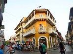 Historic Los Balcones building during day