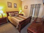 Queen Bedroom w/Flat Screen TV