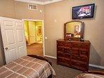 Twin Room w/Flat Screen TV - View #3