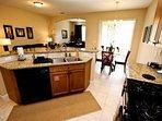 Fully stocked kitchen, grainte