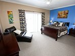 Awesome 2nd Floor Queen Master w/En-Suite Bath, Flat Screen TV & Private Balcony