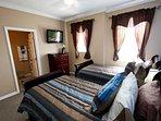 2nd Floor Twin Bedroom w/Flat Screen TV & En-Suite Bath - View #2