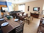 Dining Area for 6; Additional Seating for 4 at Breakfast Bar