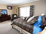 2nd Floor Queen Master Bedroom w/En-Suite Bath, Flat Screen TV and Private Balcony - View #2