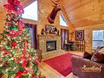 Christmas Cabin in Pigeon Forge Tennessee